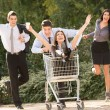 The Madness Of Consumerism — Stock Photo #58207689