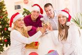 Celebrating Christmas or New Year — Stockfoto