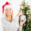 Saving money for christmas — Stock Photo #59438215