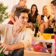 Socializing At House Party — Stock Photo #59749409