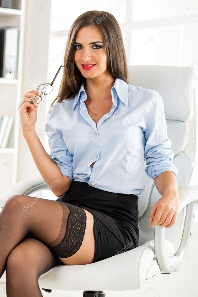 sexy business adviser � stock photo 169 milanmarkovic 60842093