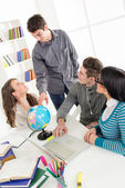 Students Learning — Stock Photo