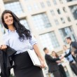 Attractive Young Businesswoman — Stock Photo #69741105