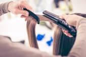 Hair Straighteners — Stock Photo