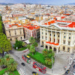 Street Rambla in Barcelona — Foto de Stock   #55695621