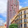 Urban view Barcelona — Stock Photo #55696049