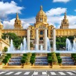 National Museum in Barcelona — Stock Photo #55696367