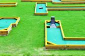 Mini-Golf field — Stock Photo