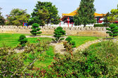Chinese landscape park . — Stock Photo