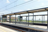 Railways Stations — Stock Photo