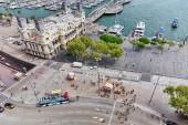 Embankment of Barcelona — Stock Photo