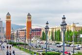 Placa De Espanya — Stock Photo