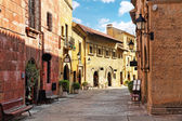 Catalan cozy streets — Stock Photo