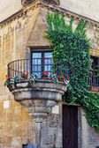 Authentic Catalan streets — Stock Photo