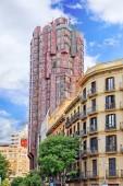 Urban view Barcelona — Stock Photo