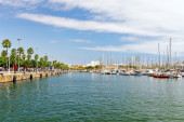 Barcelona Seaport — Stock Photo