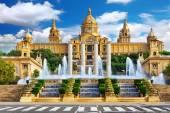 バルセロナの国立博物館 — ストック写真