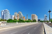 Cityscape of Valencia — Photo