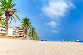 Seafront in Spain. — Stock Photo