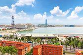 Barcelona Seaport — Stock Photo