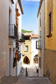 Authentic Catalan streets — Stok fotoğraf