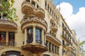 Urban view Barcelona — Foto Stock