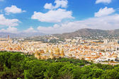 Barcelona from Montjuic castle — Stock Photo