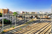 Railways Stations of Valencia — Stock Photo