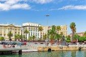 Embankment of Barcelona — Stockfoto