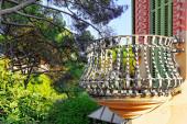 Gorgeous Park Guel — Stock Photo