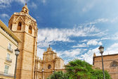 Valencia cathedral temple — Stock Photo