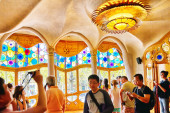 Interior and inner chamber of Casa Batlo — Stock Photo