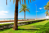 Seafront beach in Spain — Stock Photo