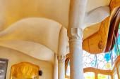 Interior of Gaudi's creation Casa Batlo — Stock Photo