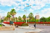 Cityscape of Valencia city — Stock Photo