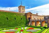 Castillo de Montjuic in Barcelona — Stock Photo
