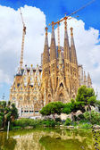 Basilica of La Sagrada Familia — Stock Photo