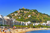 Seafront in Blanes near Barcelona — Stock Photo