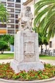 Socha v parku Valencia — Stock fotografie
