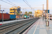 Railways Stations of Tarragona — Stock Photo