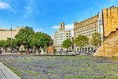 Placa De Catalunia in Barcelona — Stock Photo