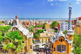 Park Guel in Barcelona — Stock Photo