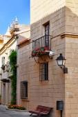 Authentic Catalan building — Stock Photo