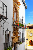 Catalan cozy street — Stock Photo