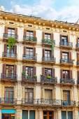 Historical landscape of Barcelona — Stock Photo