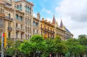 Beautiful landscape of  Barcelona — Stock Photo
