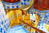 Interior of Gaudi's Casa Batlo — ストック写真