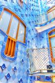 Interior of Gaudi's Casa Batlo — Stockfoto