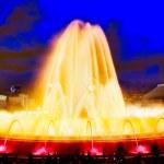 Famous Montjuic Fountain — Stock Photo #63436693
