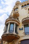 Urban view Barcelona — Stockfoto